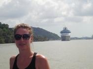 zie ginds komt een cruiseship