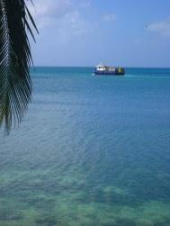 De boodschappenboot uit Costa Rica