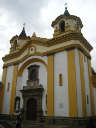 Eén van de vele vele kerken van Popayan