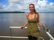 Bye bye Guyana, nog een paar meter tot Suriname!