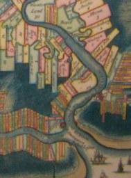 Vroegere plantages langs de rivieren