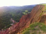 het landschap