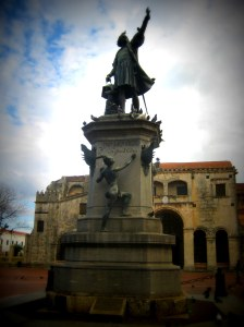 Columbus in Santo Domingo