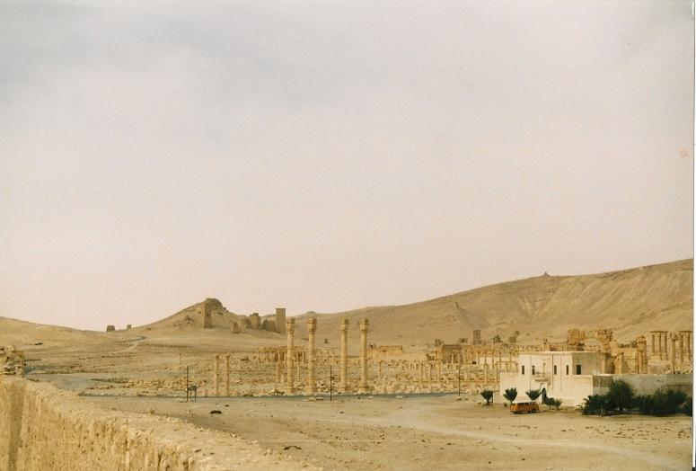 Rossi in het verlaten Palmyra