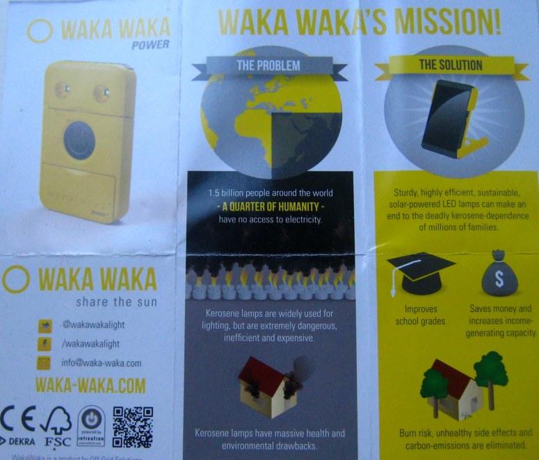 WakaWaka samengevat