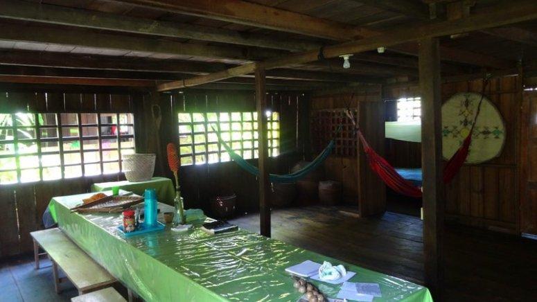 Gemeenschappelijke ruimte Casa Gregorio